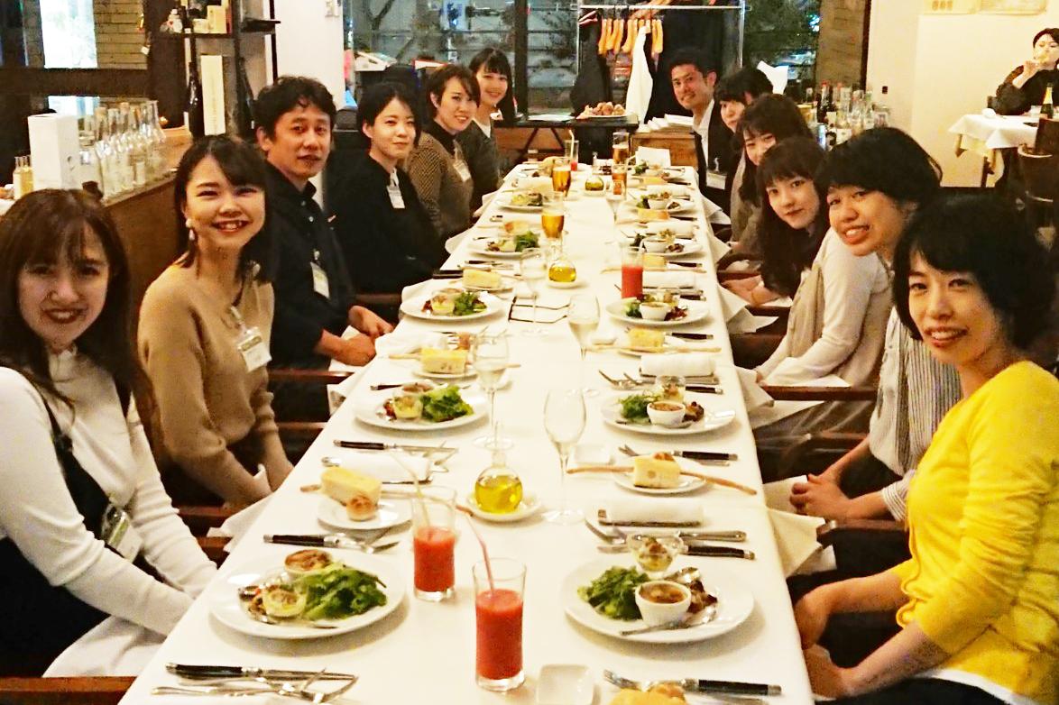 4月に入職する新卒大学生の懇親会をしました!
